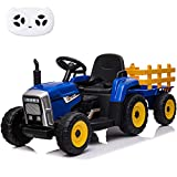 sopbost 12V Electric Ride on Tractor with Remote...