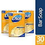 Dial Antibacterial Bar Soap, Gold, 30 Count