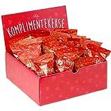 25-er Box Kompliment-Kekse | Glückskekse für Silvester, Hochzeit, Geburtstag, Valentinstag,...