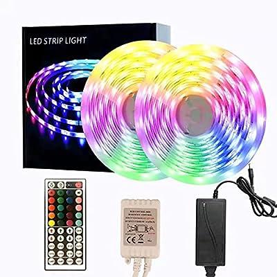 65.6ft LED Strip Lights, Color Changing Rope Li...