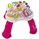 VTech Baby - Mesita parlanchina 2 en 1, mesa de actividades