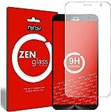 ZenGlass Flexible Glas-Folie kompatibel mit ASUS ZenFone 2, 2 Deluxe Panzerfolie I Bildschirm-Schutzfolie 9H