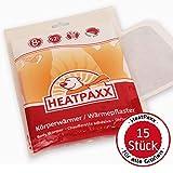 HeatPaxx Calentador corporal | 15 parches térmicos | Extra cálido | Parches térmicos finos y...