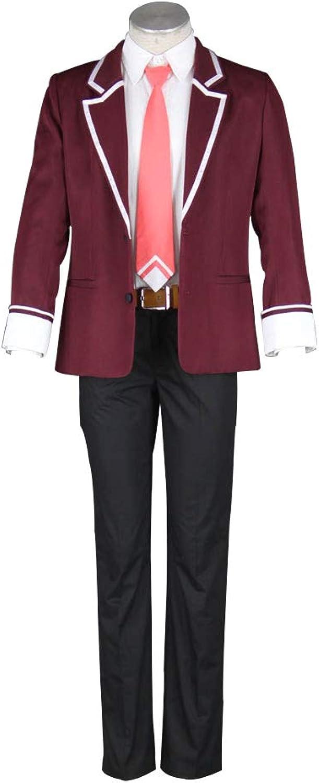 4Fun Men's 11eyes Cosplay Kouryoukan Academy School Uniform