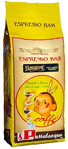 CAFFÈ PASSALACQUA HAREM - ESPRESSO BAR - PACCO 1Kg IN GRANI