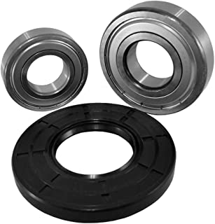 Front Load Bearings Washer Tub Bearing and Seal Kit with Nachi bearings, Fits Kenmore Tub W10772617 (Includes a 5 year rep...
