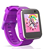 Pussan Smart Watch for Kids Girls Toddler Watch Toys for 3-8 Year Old Touchscreen USB Charging with...