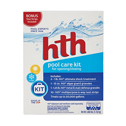 HTH Pool Care Kit All-in-One Pool Care Kit (91001)