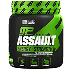 POWERFUL PREWORKOUT POWDER: Assault Sport Pre-Workout Powder is packed with powerful yet safe ingredients that supply energy to your body before workouts for maximum impact CARBONHYDRATE MATRIX: MusclePharm's high-dose energy powder contains a time-r...