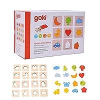 記憶ゲーム 脳トレ 知育玩具 パズル 木製 3歳 Gollnest&Kiesel ゴルネスト&キーゼル メモリーゲーム フィール ア ペア (G56968)