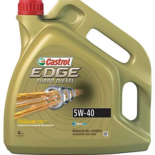 Castrol Olio Edge Turbo Diesel 5W-40 Q3 Titanium 4L