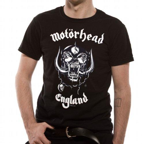 Motörhead Herren T-Shirt, Schwarz (Black), XL
