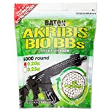 アクリビス バイオ BB弾 [ 飛距離重視 ] (0.20g : 6,000発 1.2kg ホワイト)