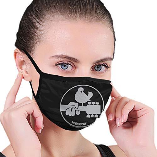 BAGR witte duif masker voor mannen & vrouwen - masker kan worden gewassen herbruikbare masker een maat meerdere patronen