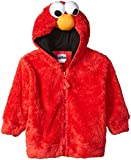 Sesame Street Boys' Toddler Costume Hoodie, Elmo Red, 4T