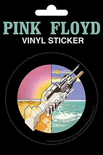 Pink Floyd - Wish You Were Here Vinyl Sticker , 11x16 cm by Poster Revolution