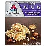 Atkins Endulge Bar Peanut Caramel Cluster -- 1.2oz 5 Bars
