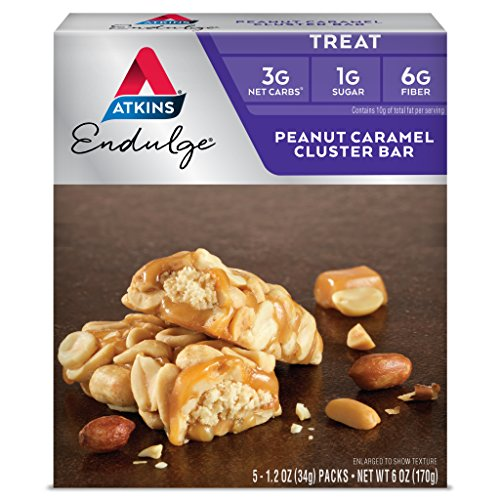 Atkins Endulge Bar Peanut Caramel Cluster Bars Now $4.43 (Retail $8.49)