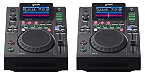Gemini MDJ-600 Professional CD Player Media DJ Controller USB (coppia)