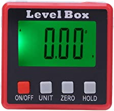 Yudanny Digital Level Box jauge Angle Finder Protractor Mesure magn/étique inclinom/ètre