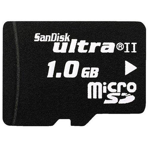 SanDisk Micro Secure Digital (Micro SD) Ultra II 1GB (originele verpakking)
