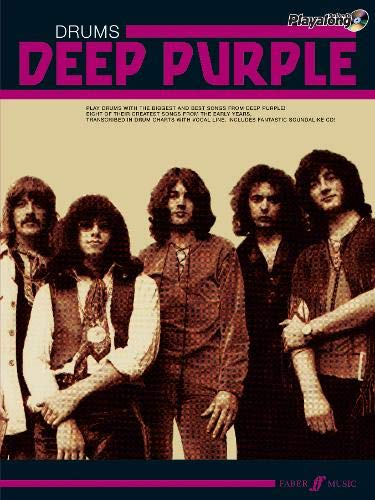Deep Purple Authentic Playalong Drums + CD