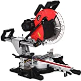 Baumr-AG DBS-305 12 Inch Double Bevel Sliding Compound Mitre Saw, with Laser Guide