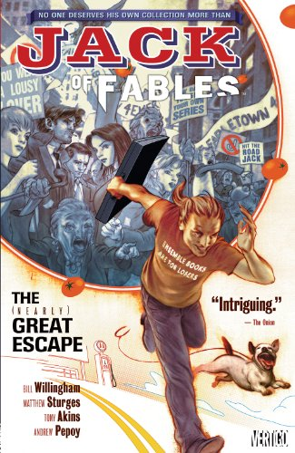 Jack of Fables Vol. 1: The (Nearly) Great Escape (English Edition)