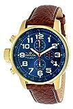 Invicta 3329 I-Force Herren Uhr Edelstahl Quarz blauen Zifferblat