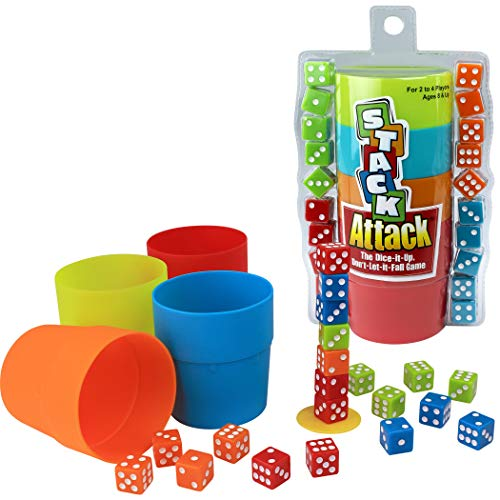 Stack Attack The Dice-it-Up, Dont-Let-it-Fall Game
