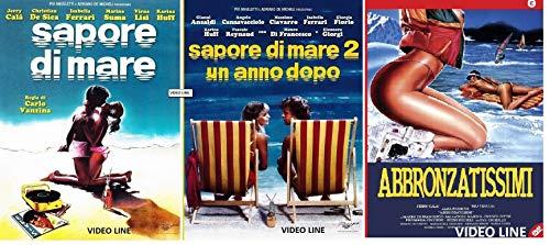 Sapore di Mare 1-2 + Abbronzatissimi (3 Film DVD) Edizione Italiana