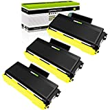 GREENCYCLE High Yield Toner Cartridge Replacement Compatible for Brother TN580 TN550 TN650 TN620 Used in HL-5370DW DCP-8060 DCP-8065DN HL-5240 HL-5250DN MFC-8890DW Printer (Black, 3-Pack)