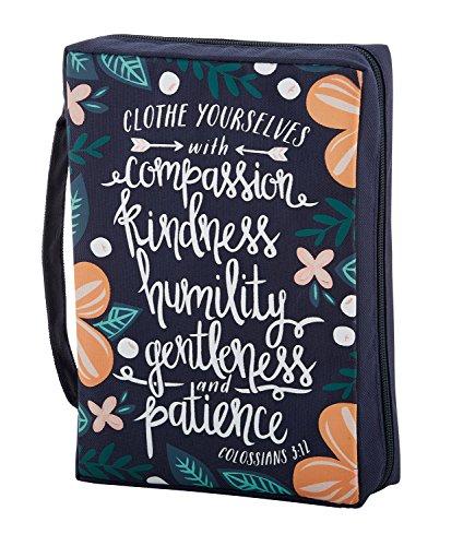 Faithworks Canvas Bible Book Cover, Compassion, Kindness