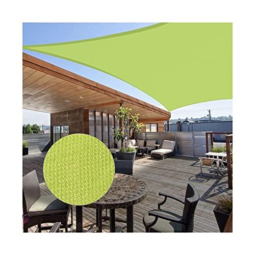zxb-shop Lona alquitranada Parasol 16'x16 'S Plaza Sun Shade Spaad, Playa Umbrella Garden Patio al Aire Libre Parasol Protección de sombrilla (excl. Base) Lona (Color : C)