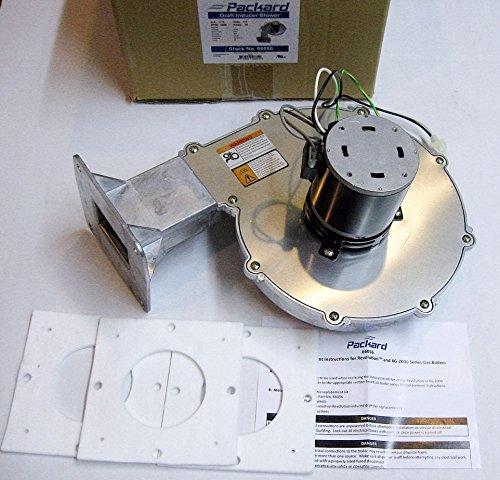 Packard Boiler Fan Motor 66056 for Burnham Combustion Blower 1.0 6116056 8116227 8116233