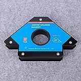 WanRomJun 1PCS Arrow Welding Magnet Magnetic Locator Alloy Steel Weld Positioner Accessories MJB1‑L Magnetic Fixed
