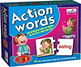 Creative Educational Aids P. Ltd. - CRE0642 Action Words Puzzle (Multi-Color)
