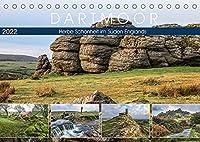 Dartmoor, herbe Schoenheit im Sueden Englands (Tischkalender 2022 DIN A5 quer): Eine fotografische Reise zu Granithuegeln, Moorlandschaften und historischen Bauwerken. (Monatskalender, 14 Seiten )
