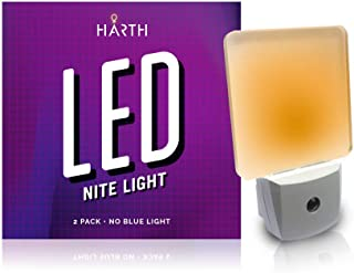 Sleep Mode 2 Night Lite (2-Pack) Sleep Mode Nite Lite with No Blue Light. Perfect for Nursery, Bathroom, Hallway. Auto On/Off Amber Color, Promotes Natural Melatonin Release. (2 Pack)