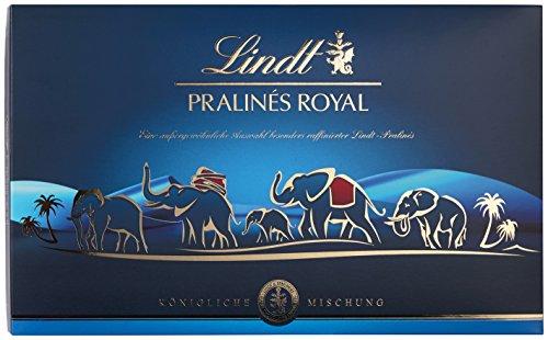 Lindt Pralinés Royal 300g, mit vierzehn unterschiedlichen köstlichen Pralinen für wahrhaft königliche Genussmomente, Schokoladengeschenk, 1er Pack