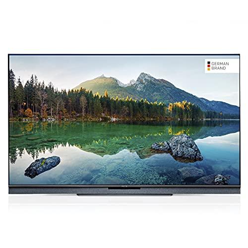 METZ Blue 65MUC8001 65 Zoll Smart 4K UHD Fernseher (164 cm) mit Android TV (Triple Tuner, Android 10.0, Netflix, YouTube, Prime Video, Disney+, HDMI, CI-Slot, USB, digital Audio)