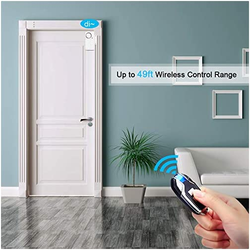 Wsdcam Wireless Door Alarm Anti-Theft Burglar Alert Window and Door Open Alarm Magnetic Sensor Pool Door Alarms for Kids… 5