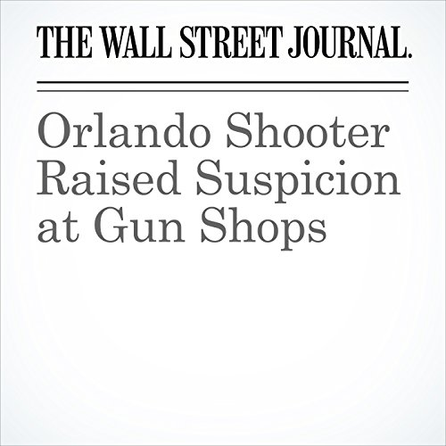 Orlando Shooter Raised Suspicion at Gun Shops cover art