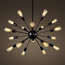 black sputnik light cheap and stylish lighting