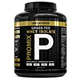 Grass Fed USA Whey Protein Isolate Powder I Native & Cold Processed I PROMIX...