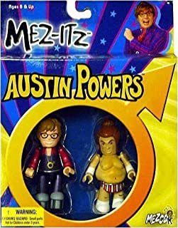 Austin Powers and Fat Bastard 3 inch Mez-Itz