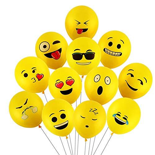 Yizhet 100 uds Globos Emotion Diferentes Mis Globos Globos de Helio del Estado de ánimo de la decoración para Las Fiesta Boda Cumpleaños Navidad Reyes Magos Ceremonia etc