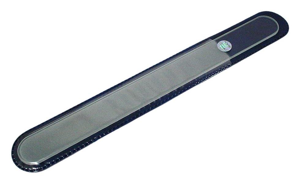 火傷タイムリーなご注意BLAZEK(ブラジェク) ガラスやすり(爪?かかと用) プレーン Lサイズ200mm
