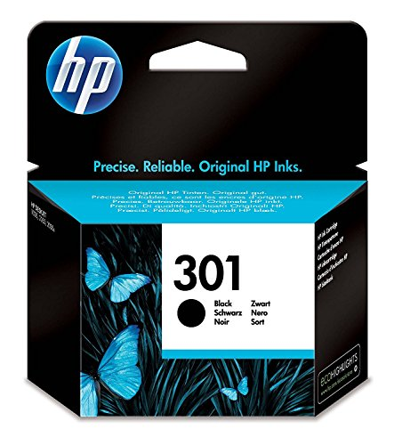 HP CH561EE 301 Cartucho de Tinta Original, 1 unidad, negro