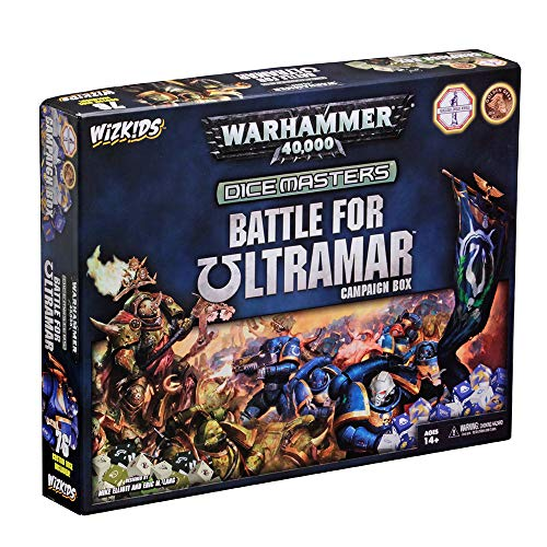 Wizkids Games Battle for Ultramar Campaign Box: Warhammer 40,000 Dice Masters - English